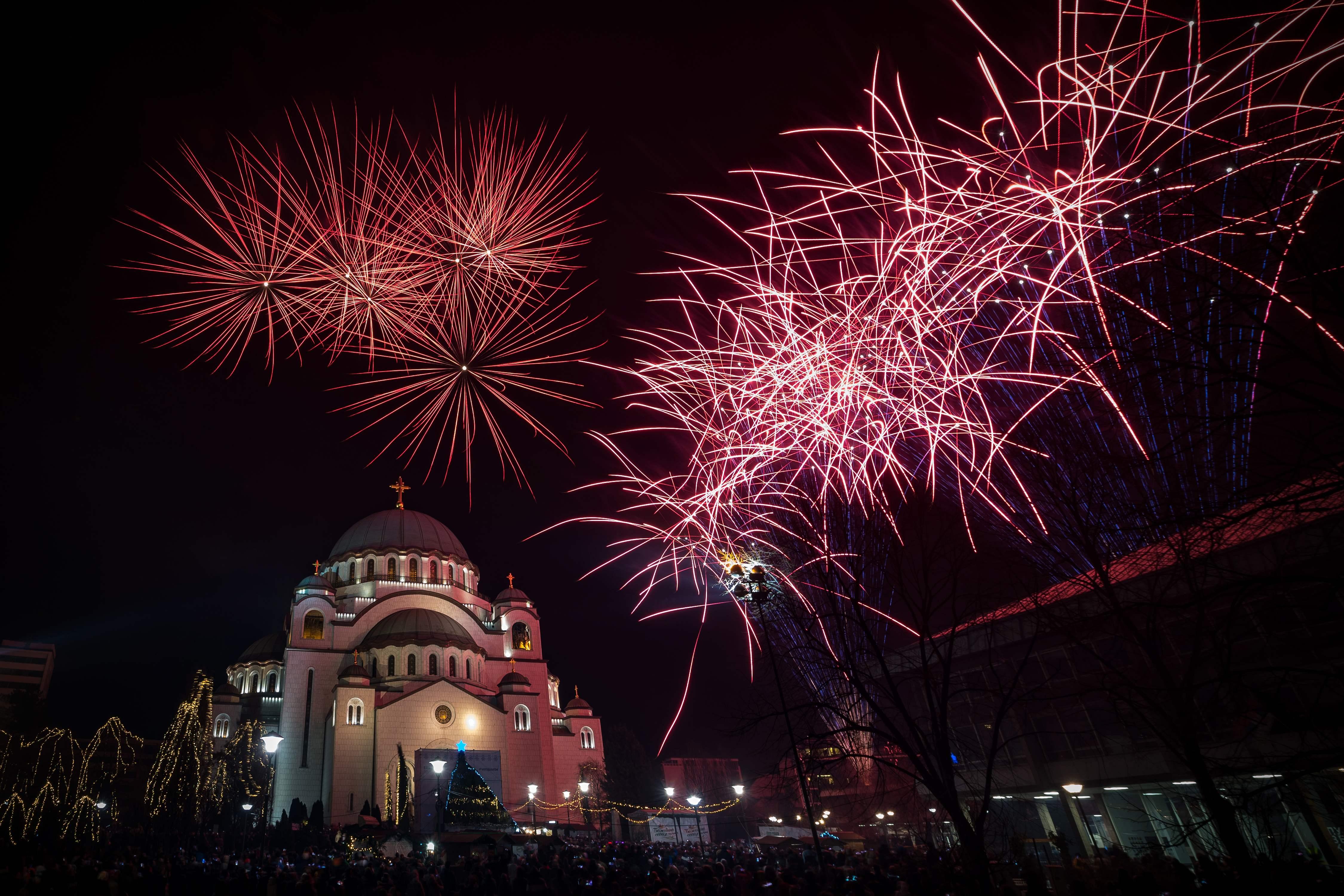 احتفالات بمناسبة السنة الأرثوذكسية الجديدة