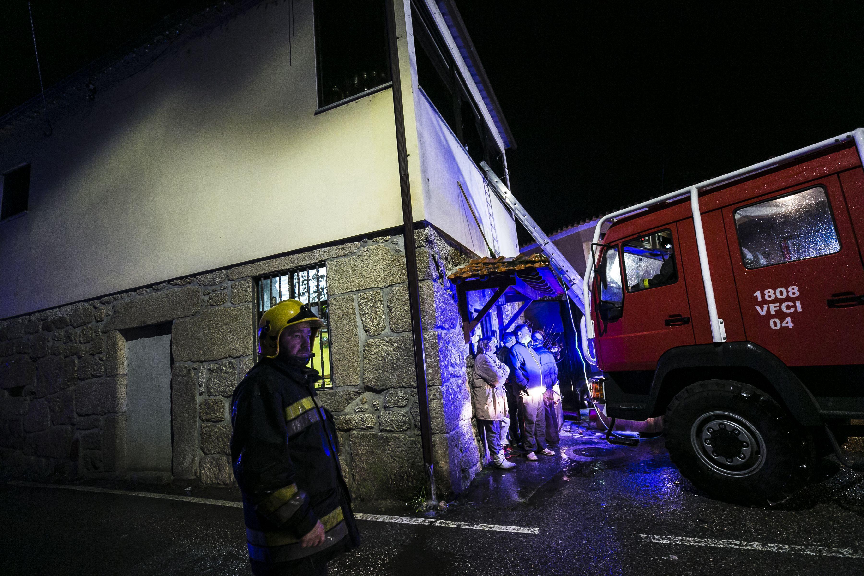 حريق جمعية ترفيه محلية فى البرتغال