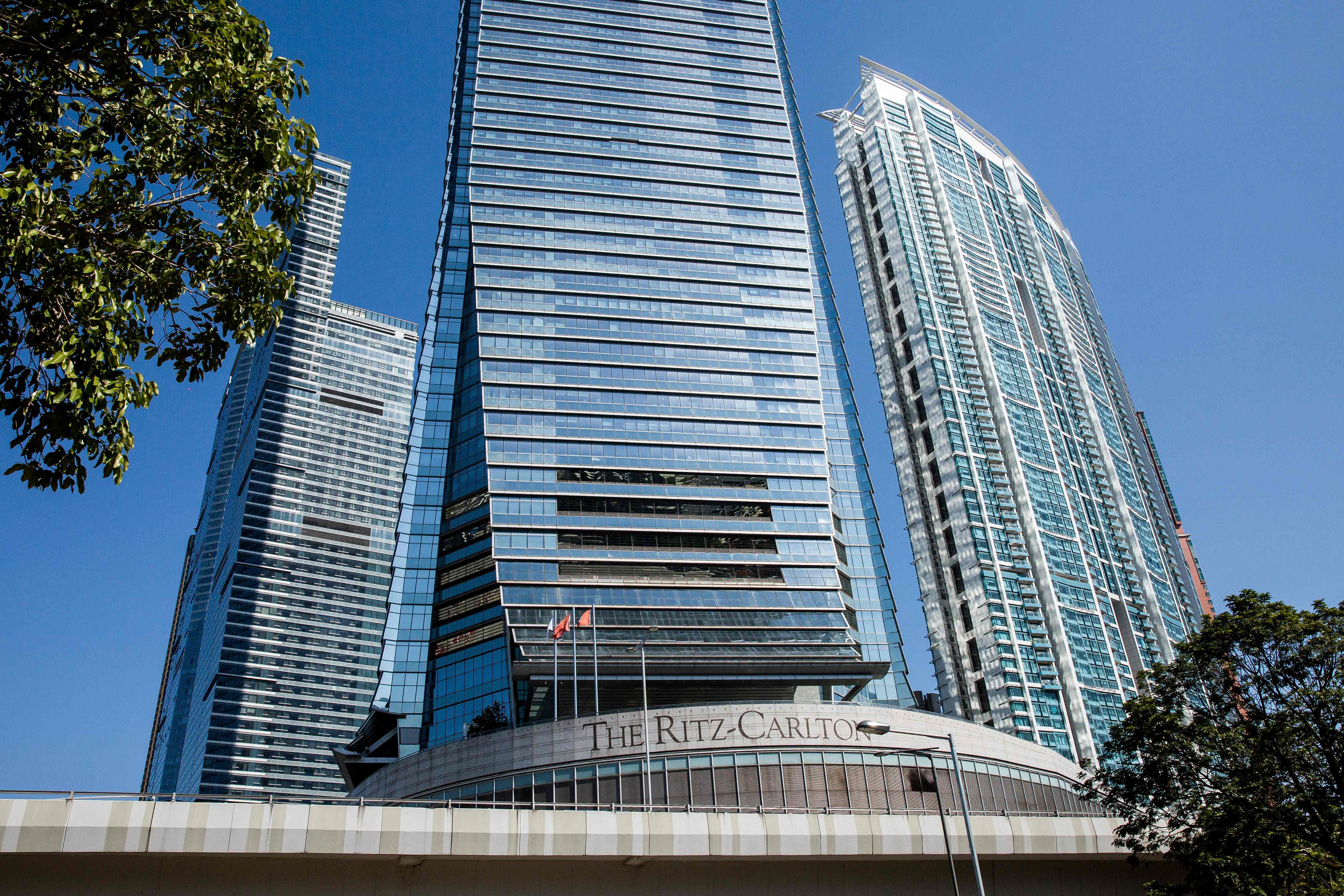فندق ريتزل كارلتون فى هونج كونج