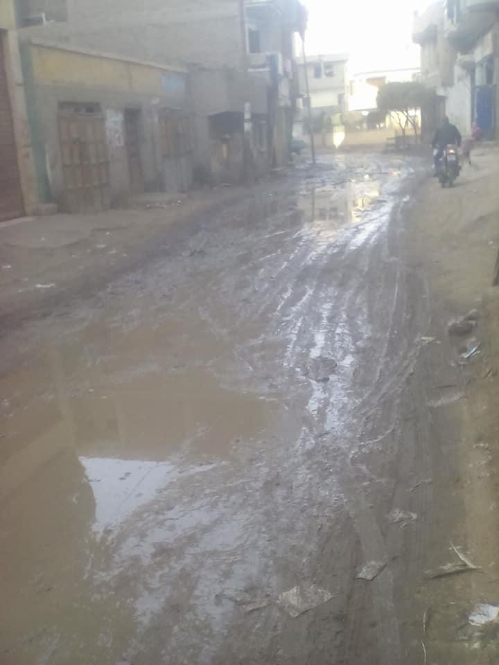 رقم 1 المياه تغرق الشوارع