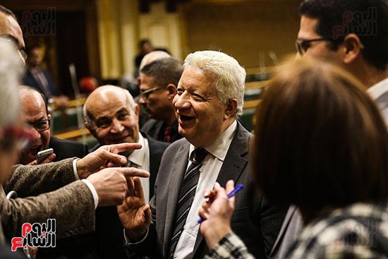 مجلس النواب يبارك التعديل الوزارى (10)