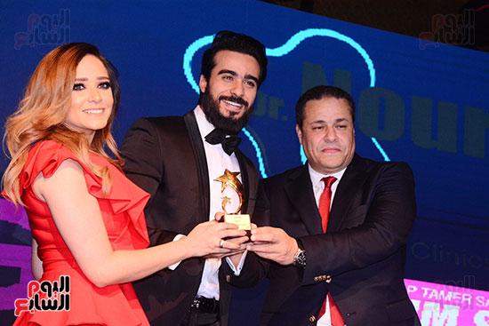 40- تكريم محمد عامر وخطيبته سلمي