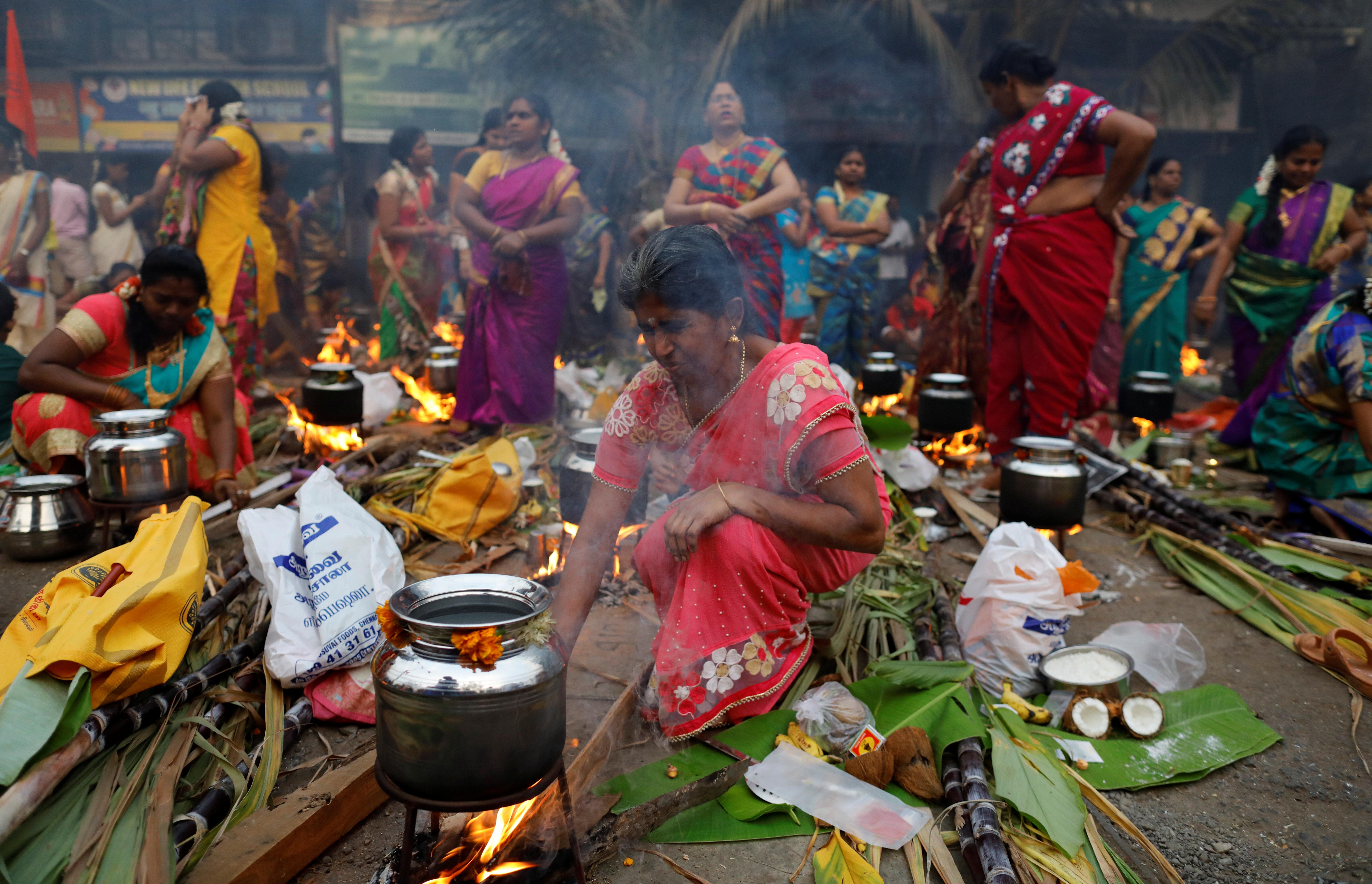 طقوس احتفالات مهرجان البونجال