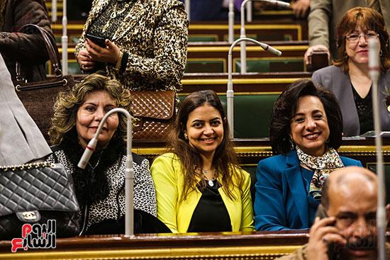 مجلس النواب يبارك التعديل الوزارى (9)