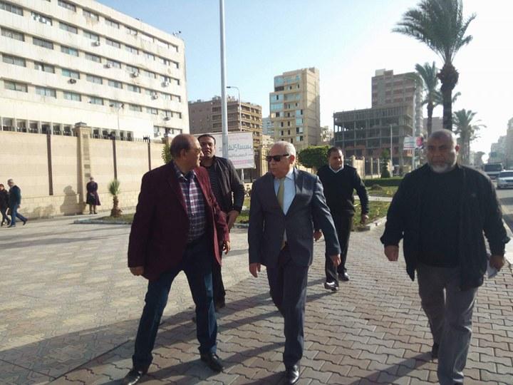 جولة محافظ بورسعيد (3)