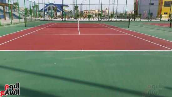 القرية-الرياضية-ببورسعيد-التي-افتتحها-الرئيس-السيسي-اليوم-(6)