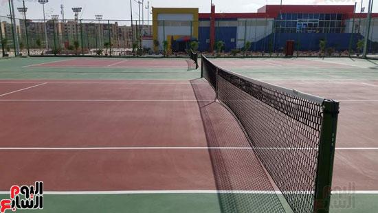 القرية-الرياضية-ببورسعيد-التي-افتتحها-الرئيس-السيسي-اليوم-(5)