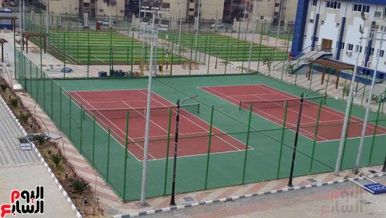 القرية-الرياضية-ببورسعيد-التي-افتتحها-الرئيس-السيسي-اليوم-(15)