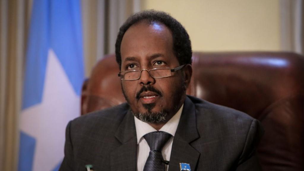 الرئيس الصومالى السابق حسن شيخ محمود