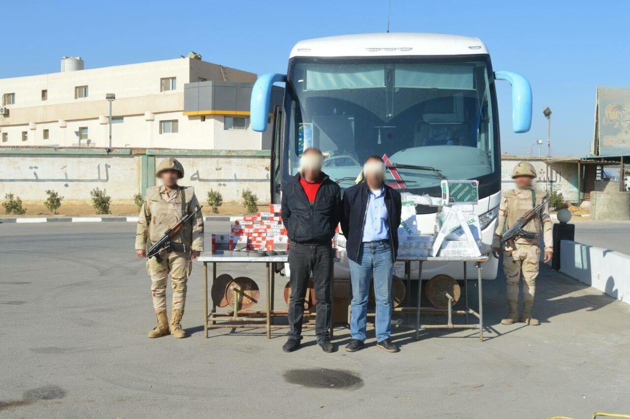 الجيش الثالث يواصل أعمال مكافحة الإرهاب بوسط سيناء2