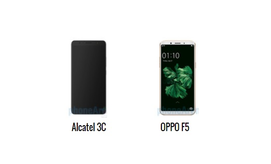 هاتفى اندرويد OPPO F5 والكاتيل  3C