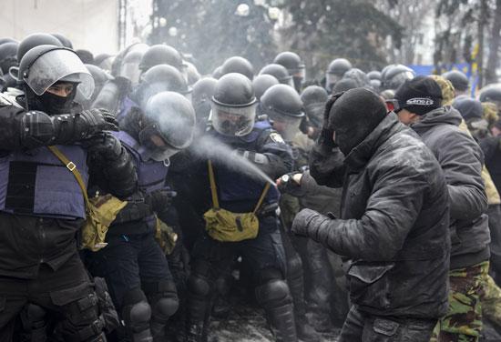 الشرطة فى أوكرانيا