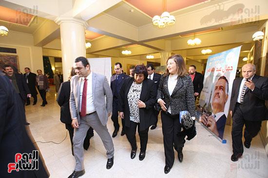 صور مئوية جمال عبد الناصر بالمسرح الكبير (3)