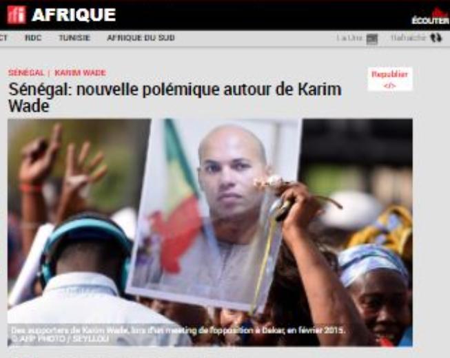 الاعلام السنغالى يفضح صفقة الدم بين تميم وواد