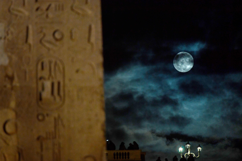 القمر العملاق فى ايطاليا