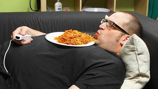 الاسترخاء بعد تناول الطعام