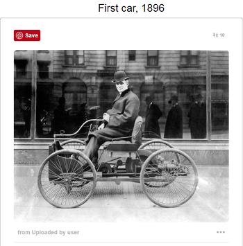 أول  سيارة