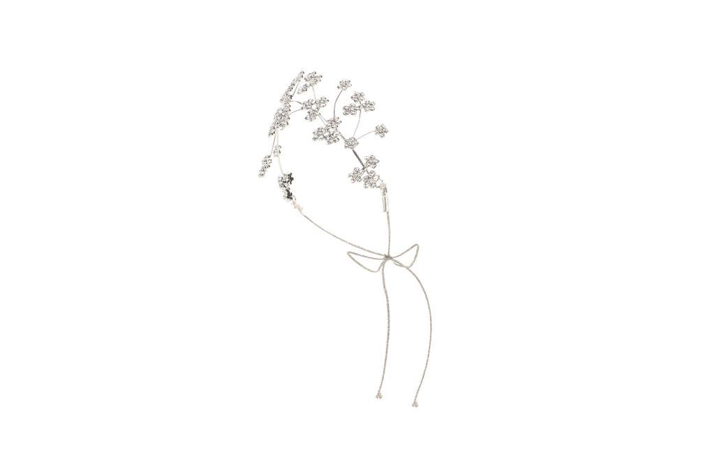 تاج الزهور بالخرز