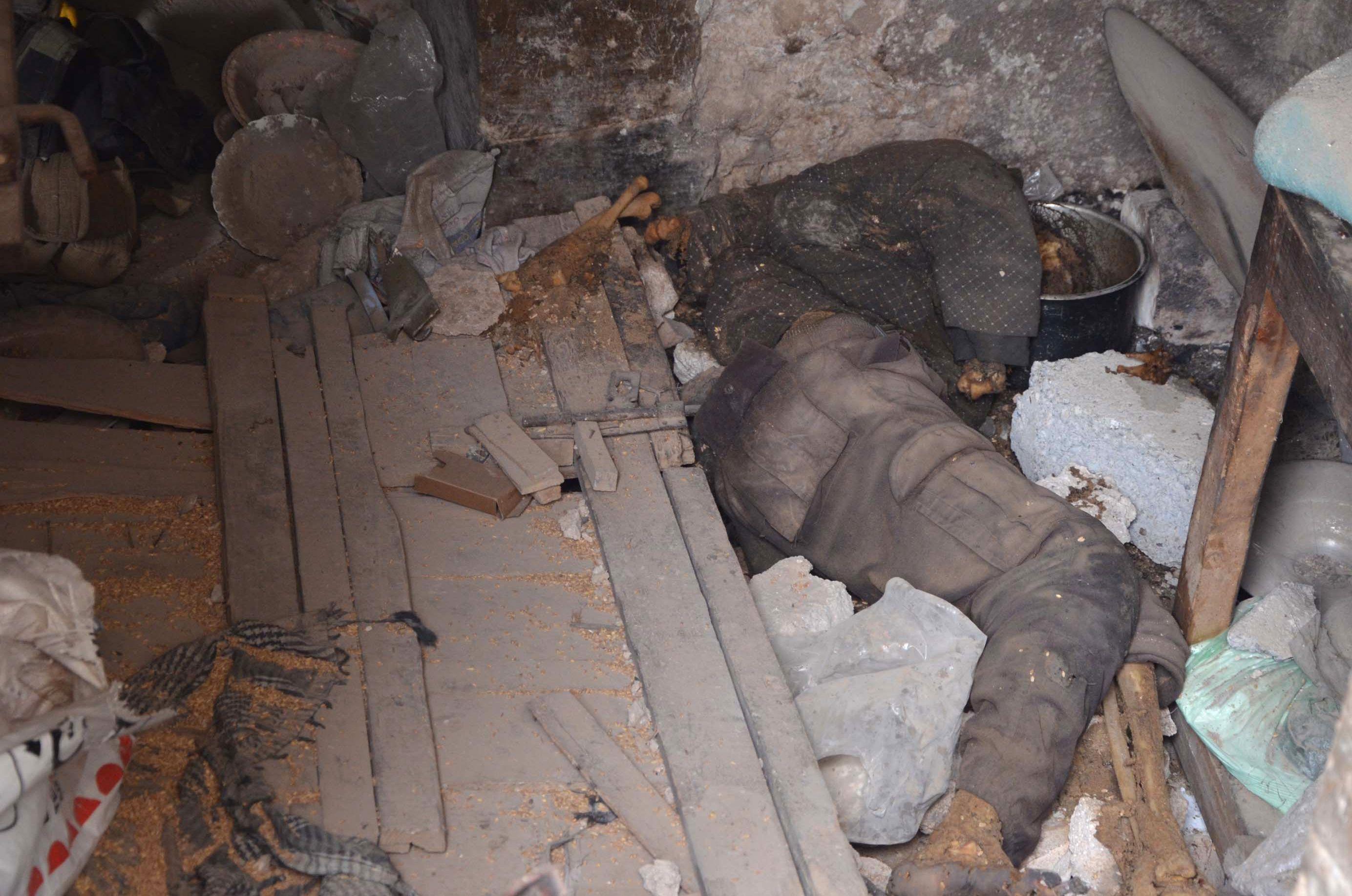 جثث  عناصر داعش