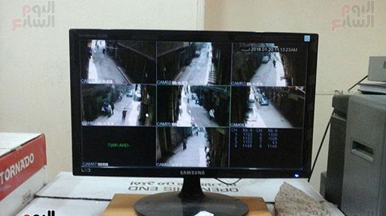 الشاشة-الرئيسية-لكاميرات-المراقبة-بالشارع