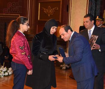 السيسى يحضر احتفاليه الشرطه بالعيد 66 (25)