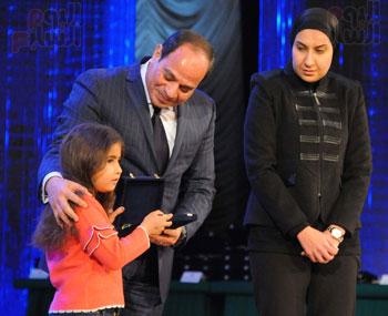 السيسى يحضر احتفاليه الشرطه بالعيد 66 (4)