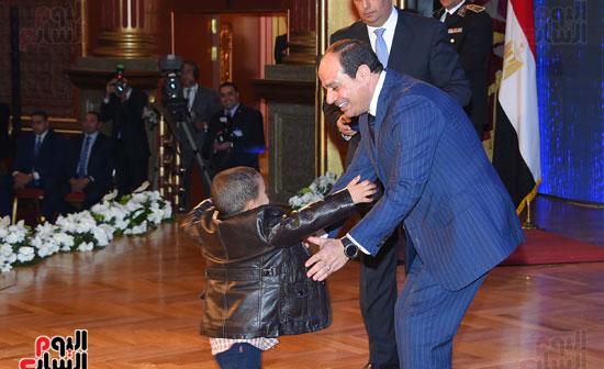 السيسى يحضر احتفاليه الشرطه بالعيد 66 (31)