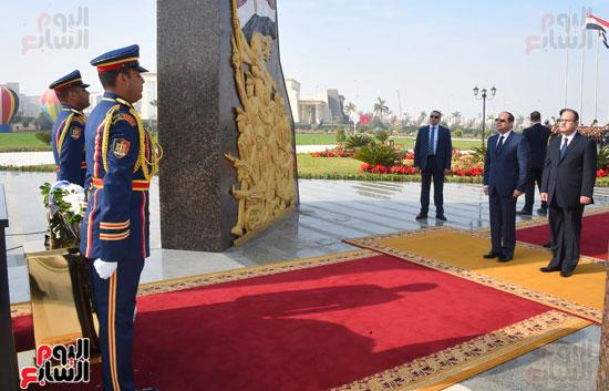 السيسى يحضر احتفاليه الشرطه بالعيد 66 (20)