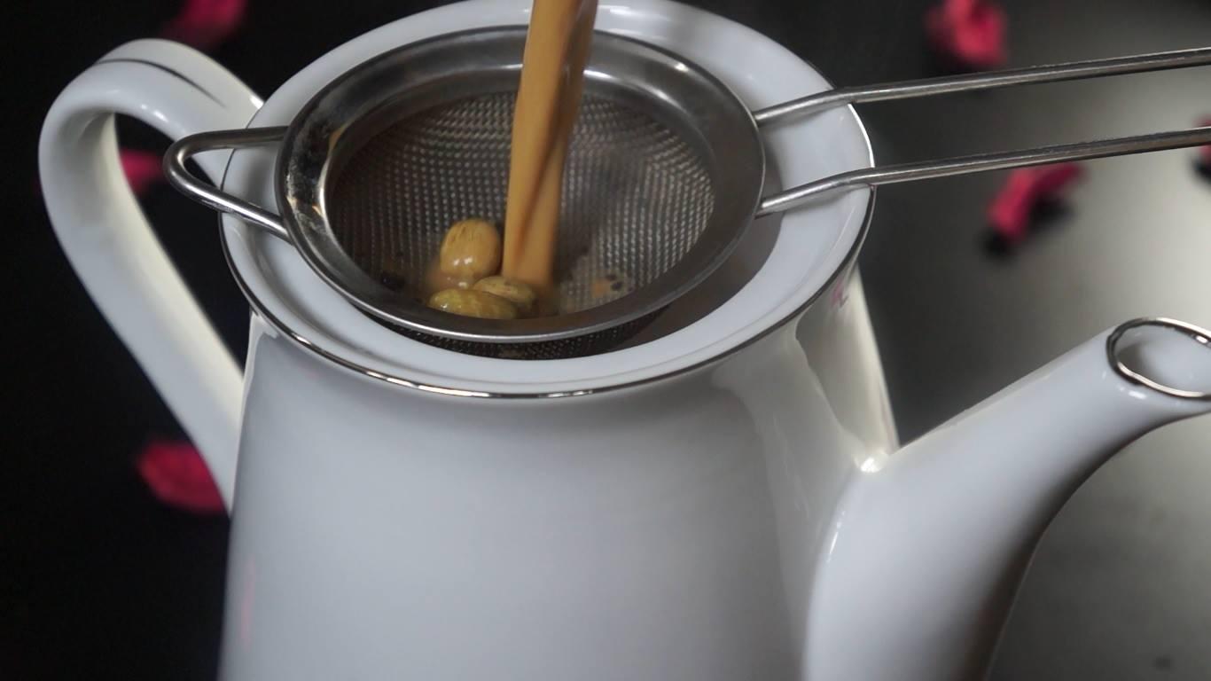 تصفية  الشاى الكرك