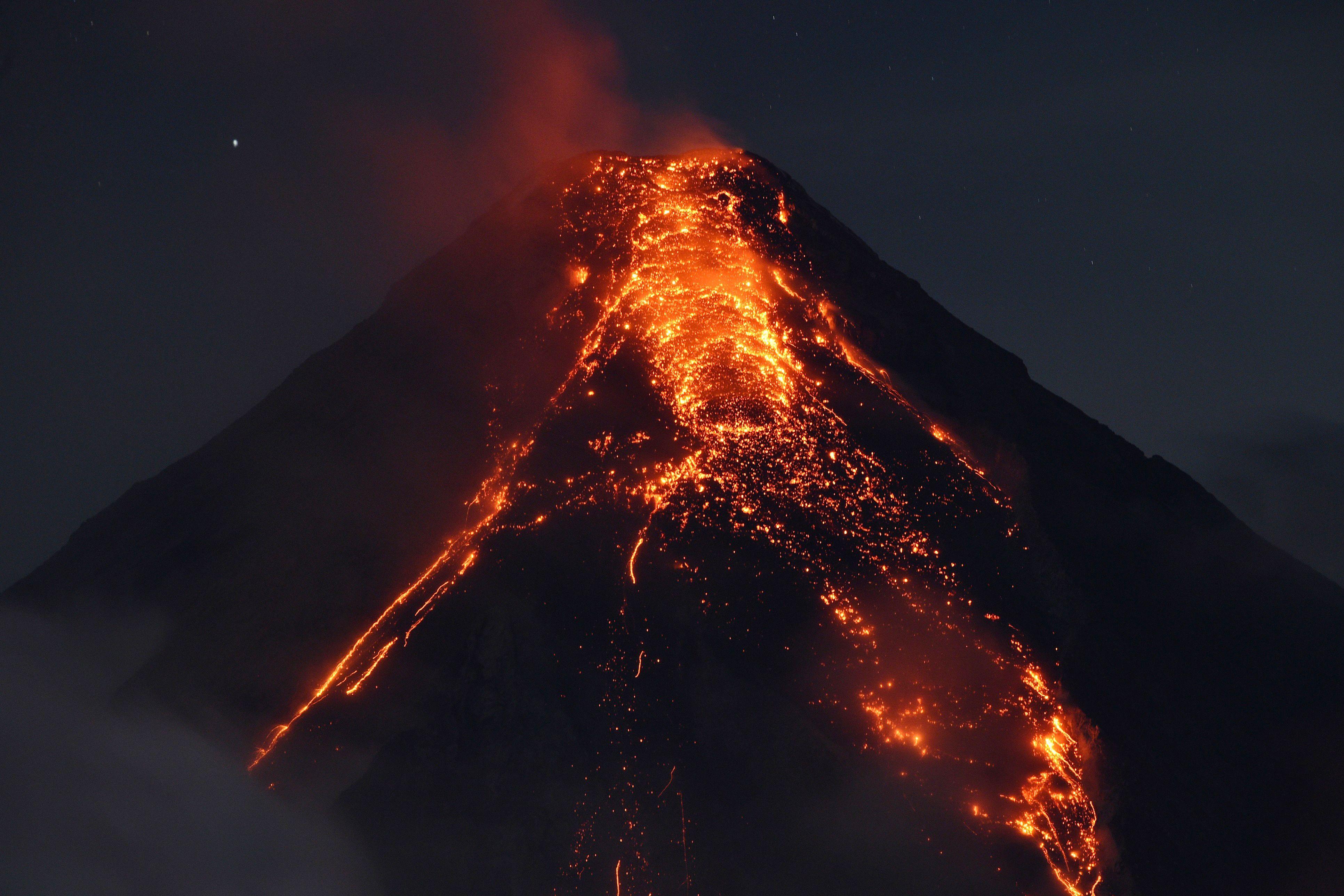 بركان الفلبين