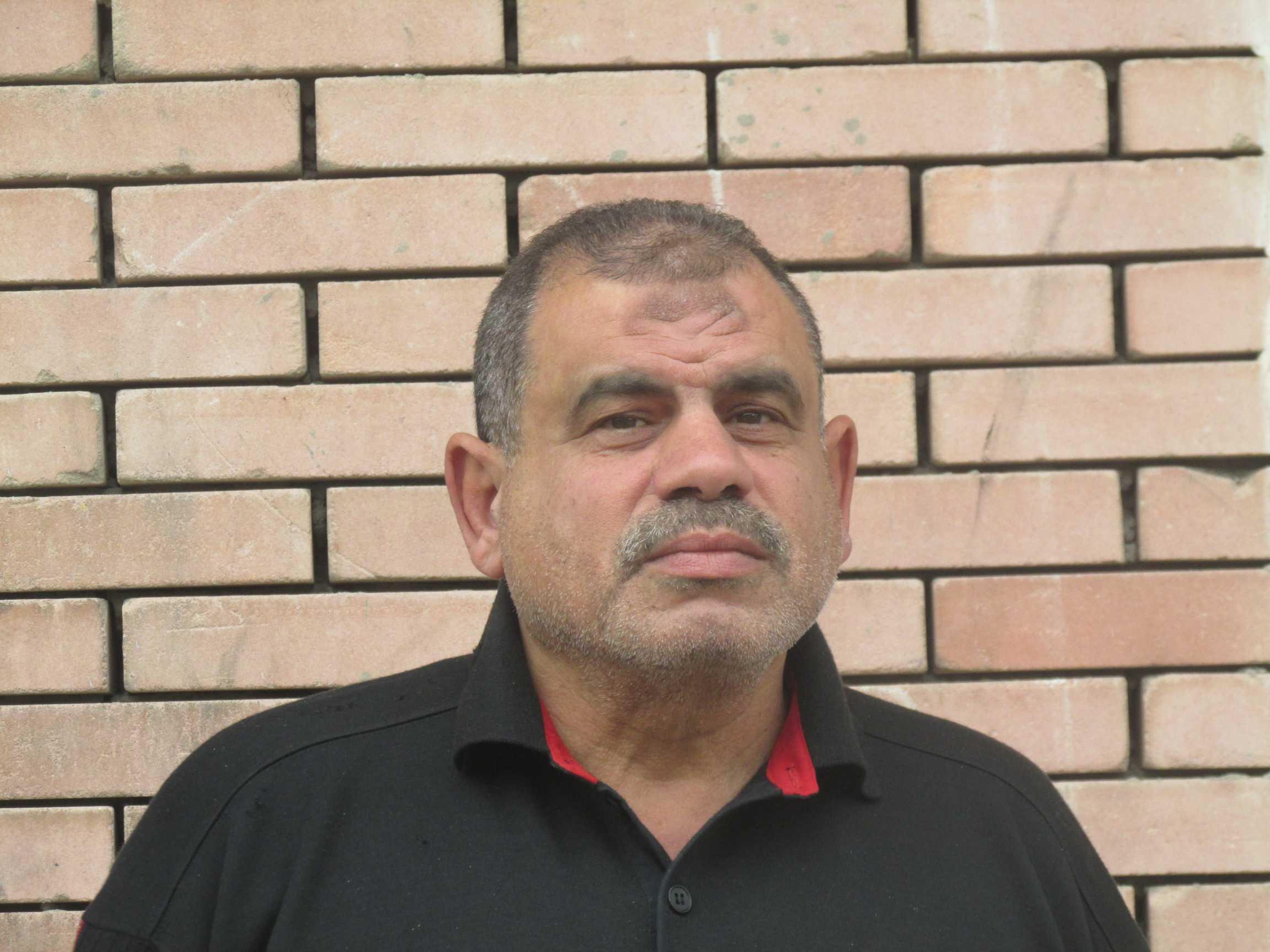 والد الشهيد  طيارأحمد محمد أبو العطا
