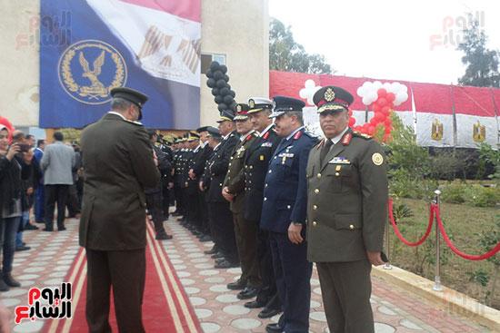 جانب من احتفالات المحافظ باعياد الشرطة المصرية