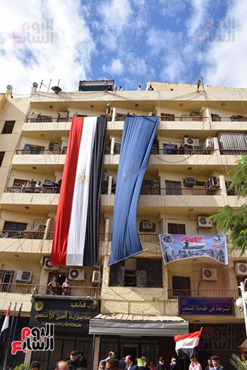 إحتفالات شعبية عارمة بكافة أنحاء محافظات مصر بالذكرى 66 لعيد الشرطة المصرية