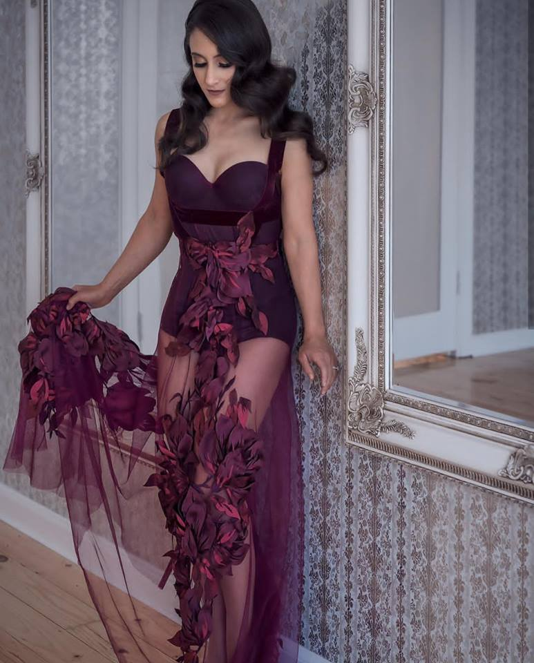 الفستان النبيتى