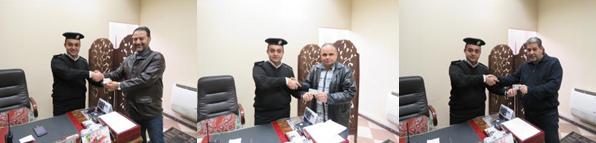 استقبال المواطنين بادارات الشرطة الخدمية