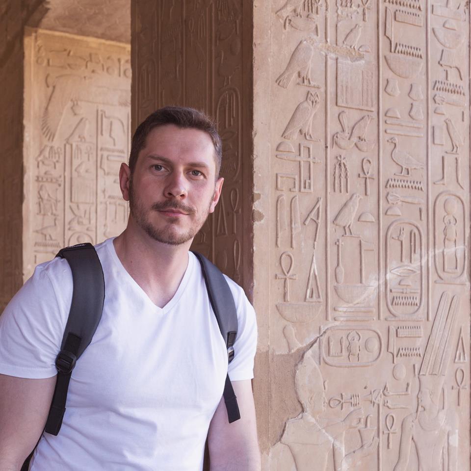 عالم المصريات الروسى أندرى بلاكسين (2)
