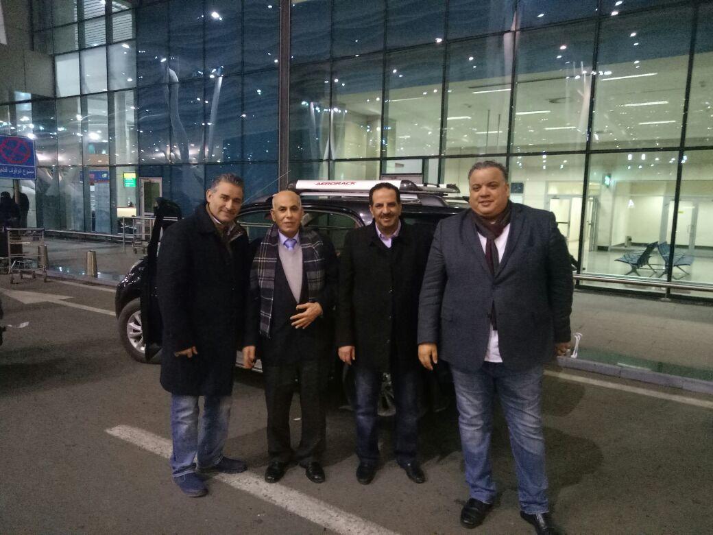 وصول رئيس الناشرين الأردنيين ومدير معرض عمان للمشاركة بمعرض الكتاب (2)