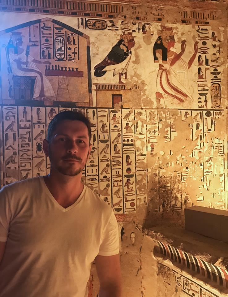 عالم المصريات الروسى أندرى بلاكسين (1)