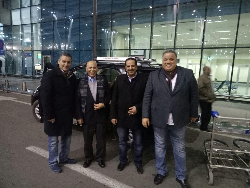 وصول رئيس الناشرين الأردنيين ومدير معرض عمان للمشاركة بمعرض الكتاب (1)