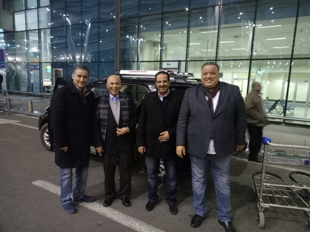 وصول رئيس الناشرين الأردنيين ومدير معرض عمان للمشاركة بمعرض الكتاب (3)
