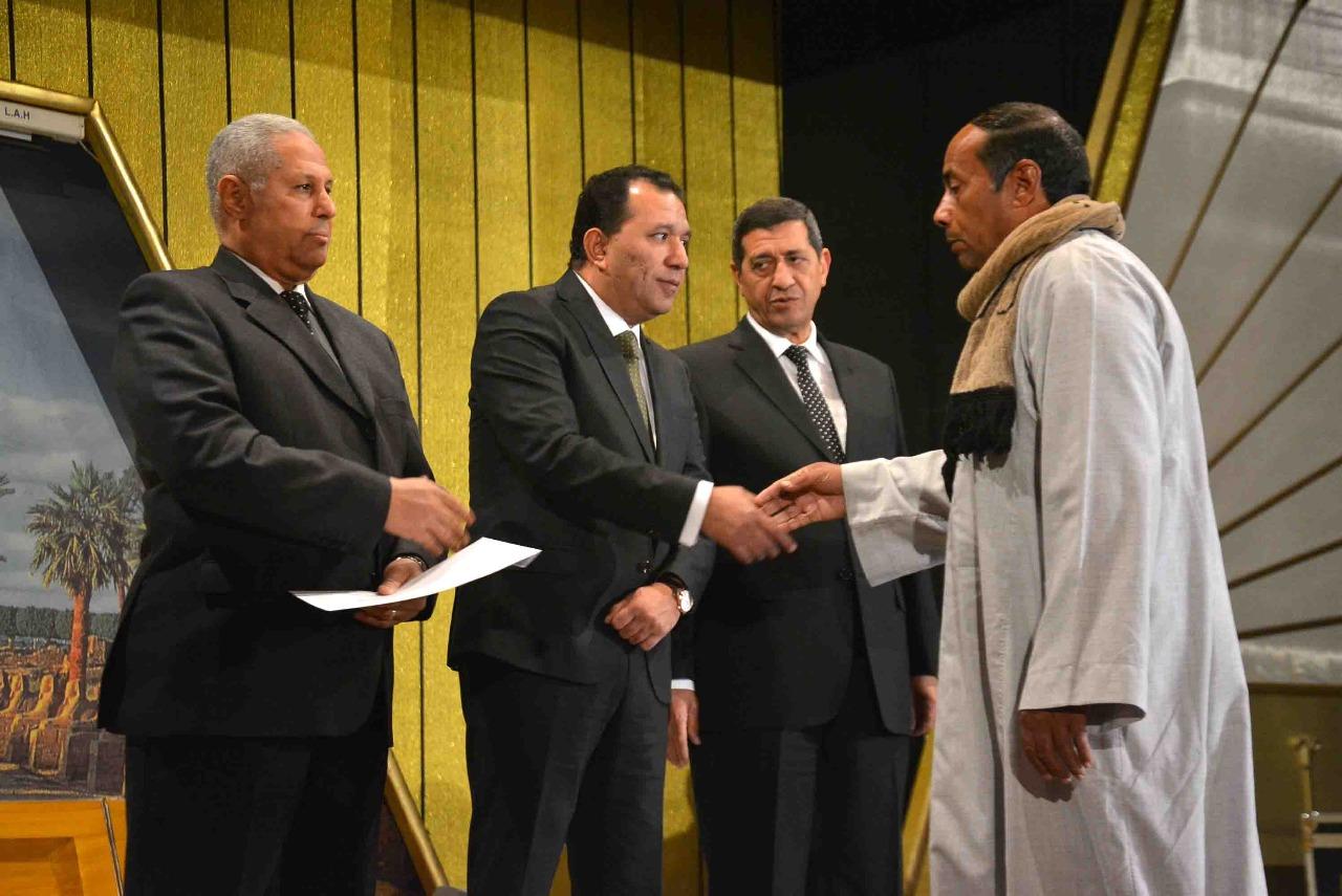محافظ الأقصر يشهد إحتفالية مديرية الأمن بالذكري 66 لأعياد الشرطة المصرية (4)