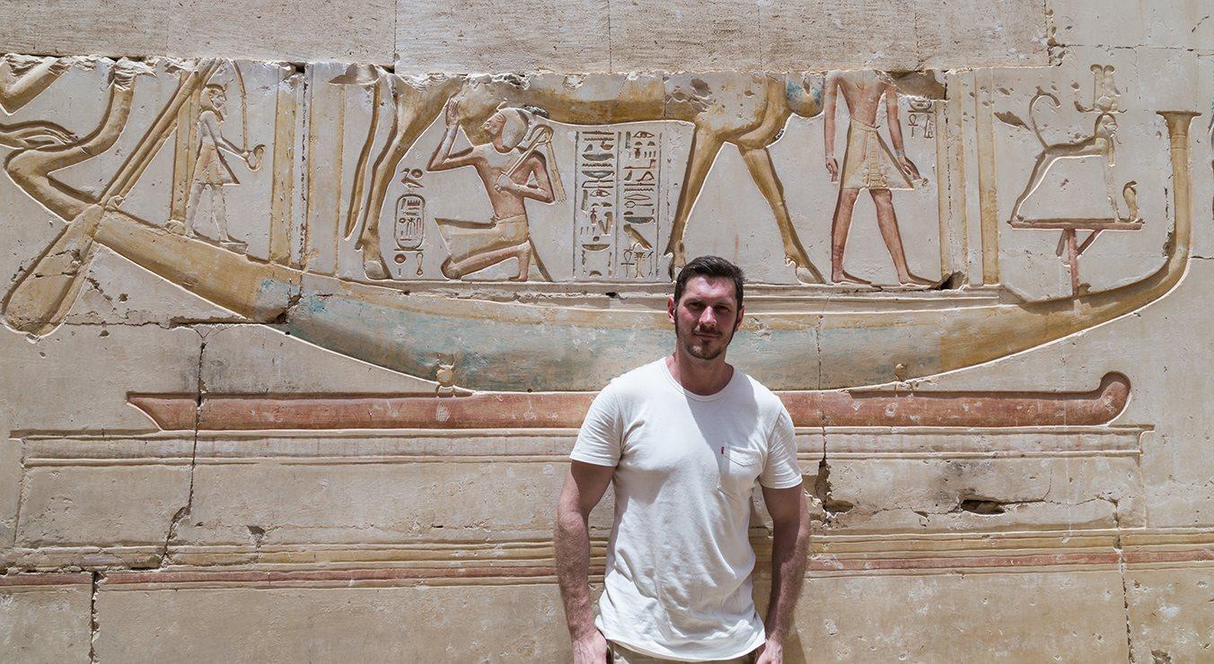 عالم المصريات الروسى أندرى بلاكسين (3)