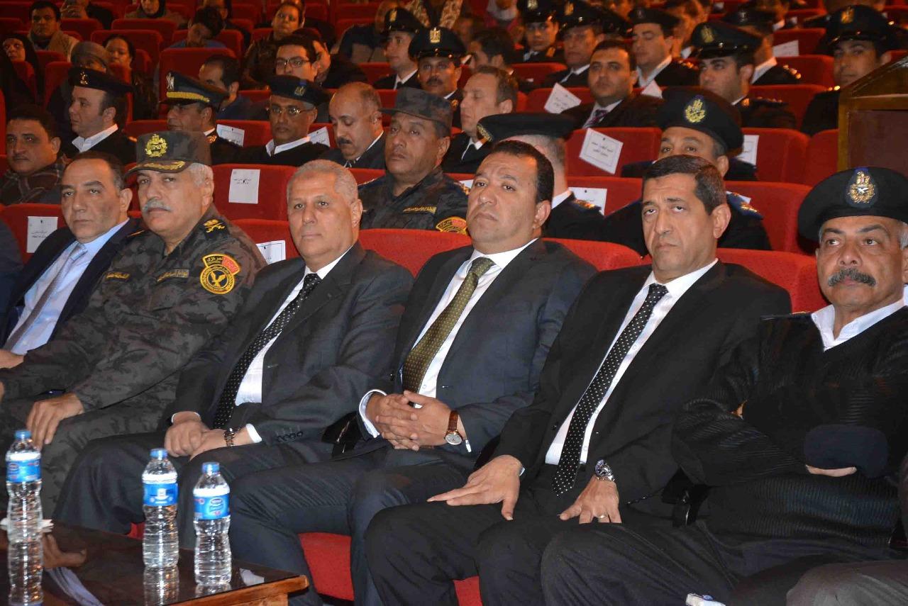 محافظ الأقصر يشهد إحتفالية مديرية الأمن بالذكري 66 لأعياد الشرطة المصرية (1)