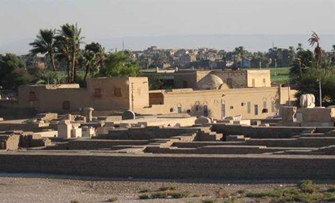 مرسم الشيخ عبد الرسول بالبر الغربي الأقدم بالأقصر