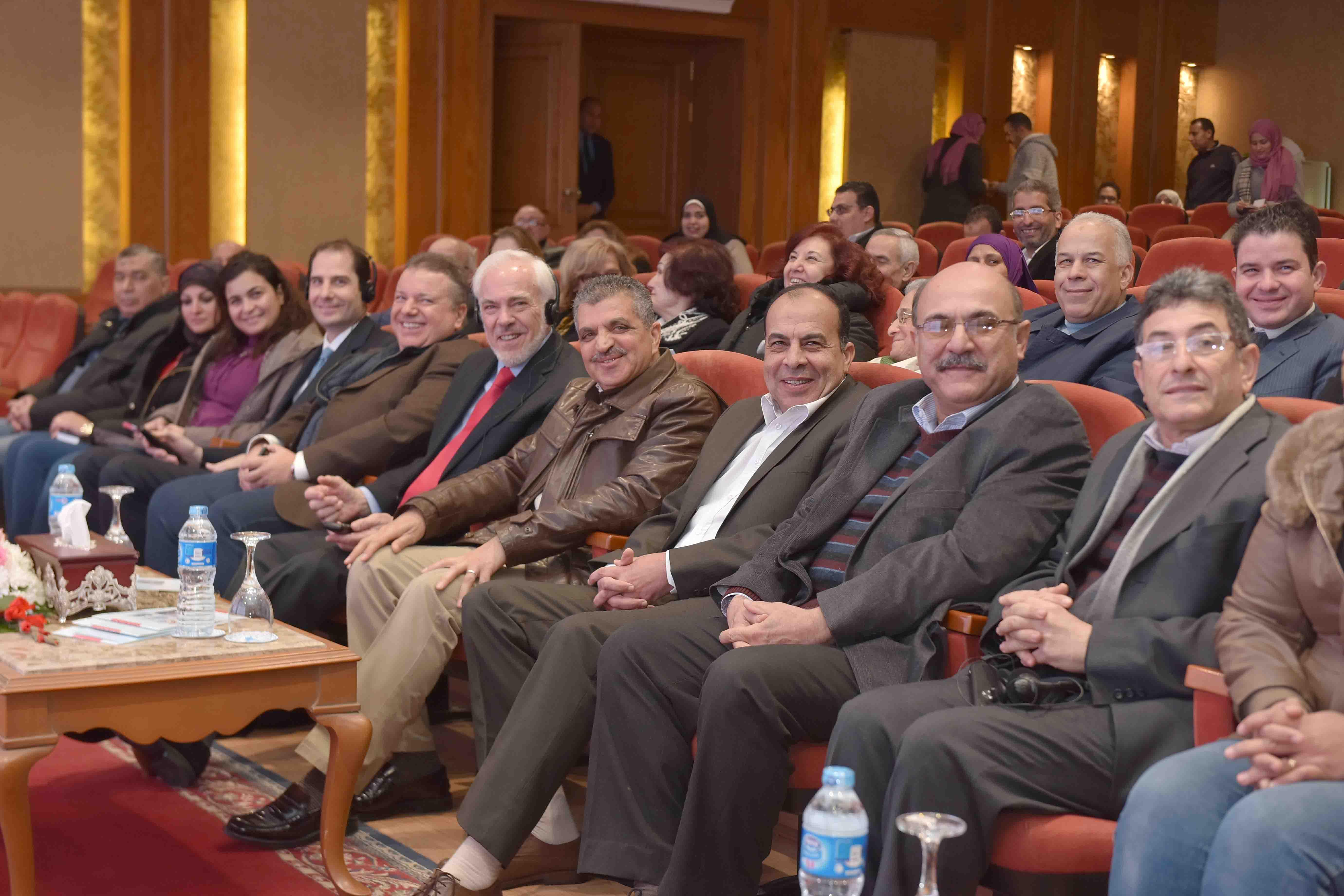 1- جانب من الوفد المشارك