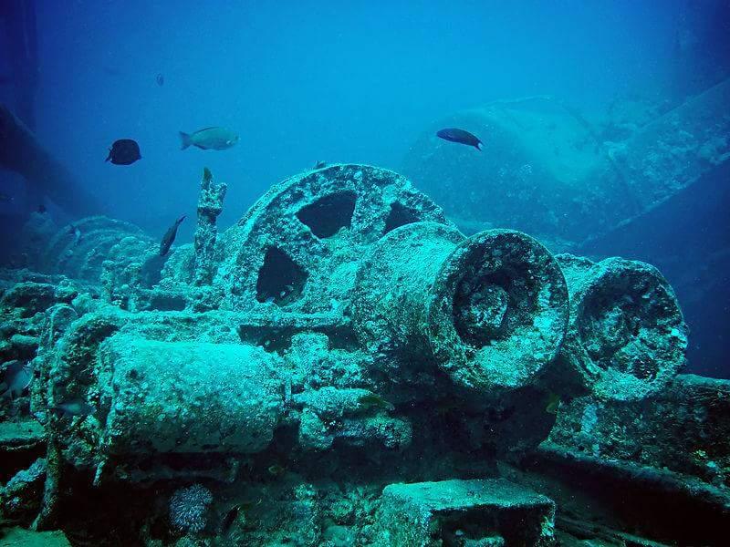 السفن الغارقة بالبحر الأحمر (1)