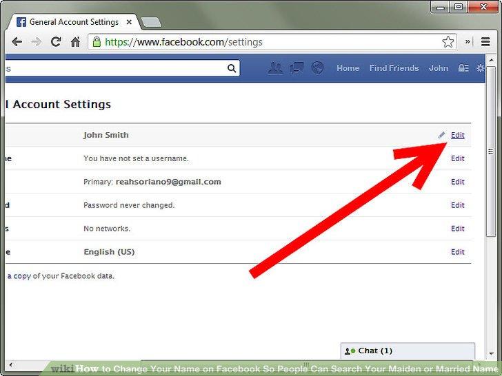 لو مش عجبك خطوات بسيطة لتغيير اسمك على فيس بوك اليوم السابع
