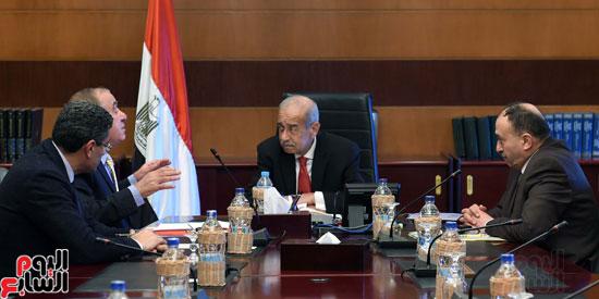 شريف اسماعيل رئيس الوزراء ووزير التنميه (3)
