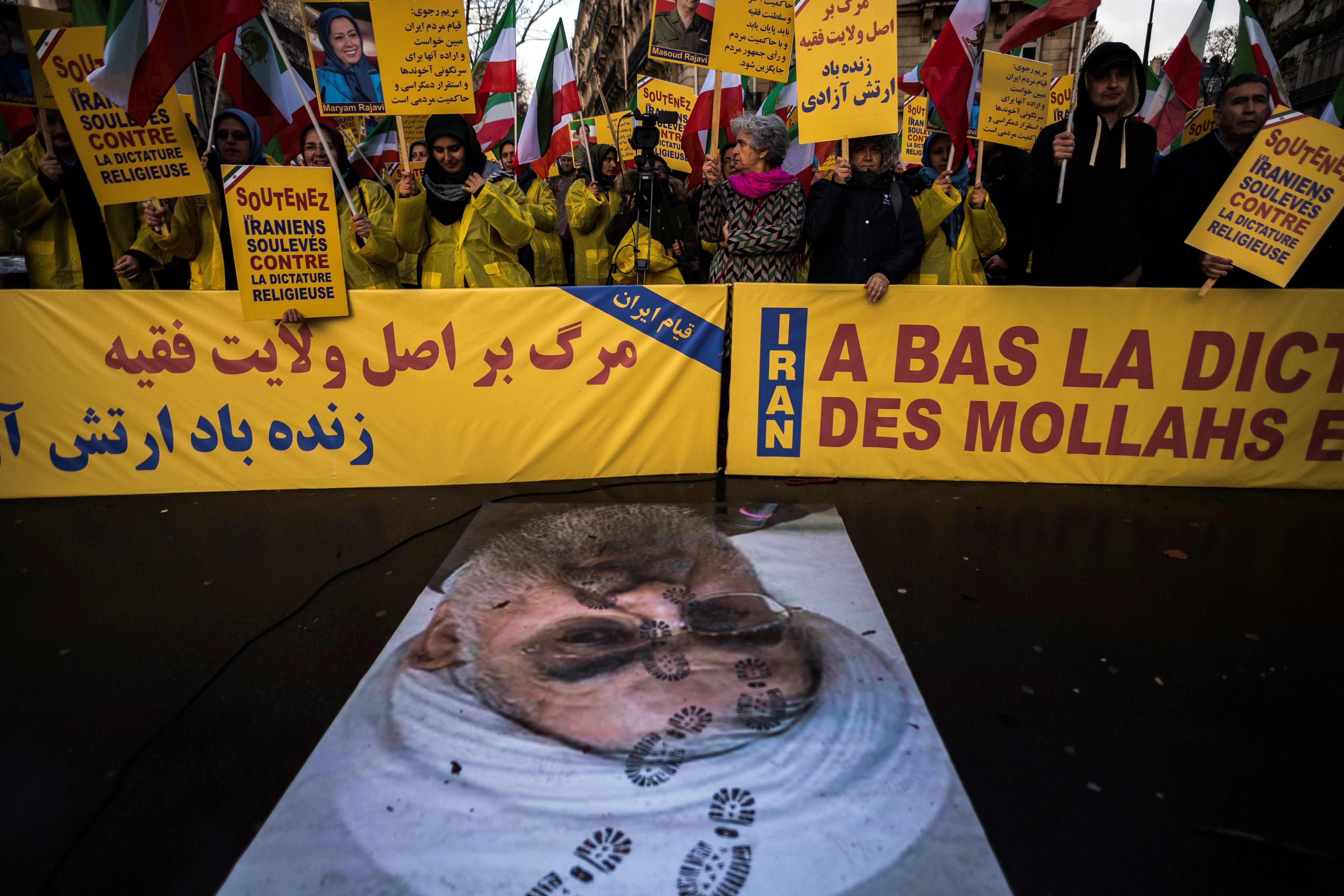 مظاهرات مناهضة للنظام الإيراني