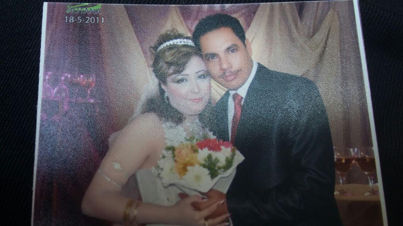 صورة من حفل زفاف شهيد العمرانية